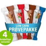 Low carb proteinbar prøvepakke