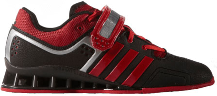 Adidas Adipower Weightlifting Shoes Black/Red