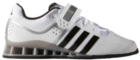 Adidas Adipower Weightlifting Shoes White/Black