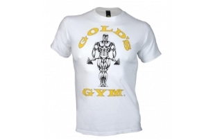 Hvid Golds Gym T-shirt