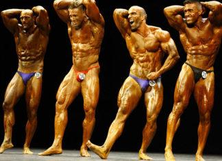 Posing Trunks til bodybuilding
