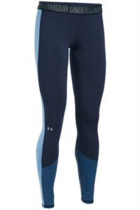 Under Armour Womens Favourite Graphic Leggings Midnight Navy
