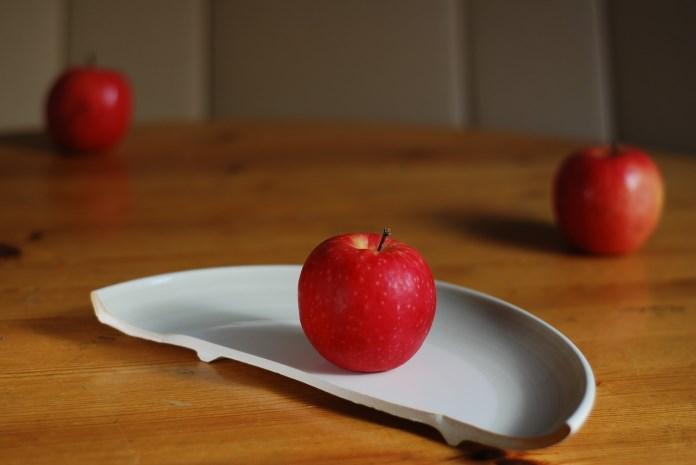Mindre tallerken og vægttab