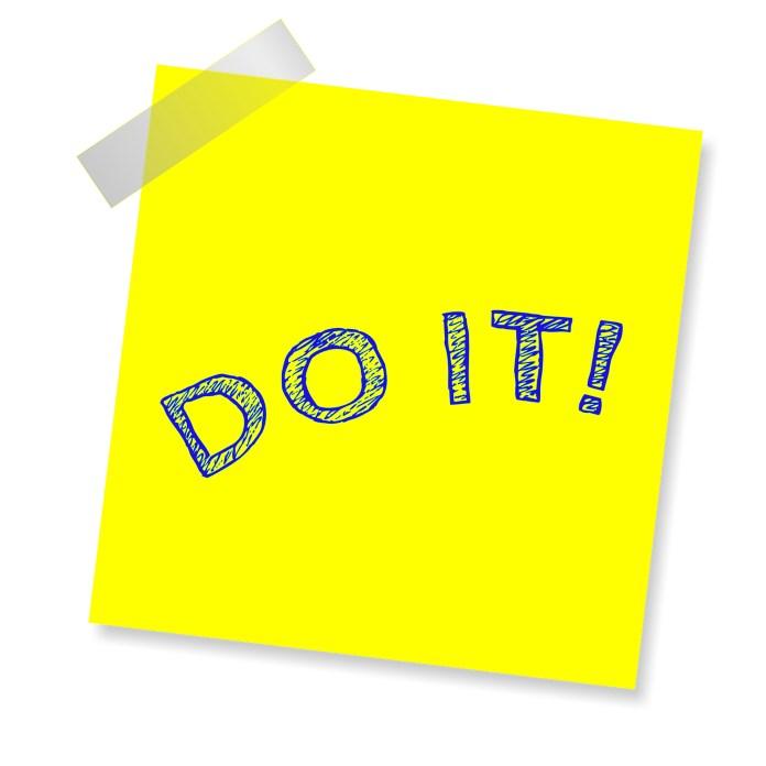 Prioriter din træning - JUST DO IT!